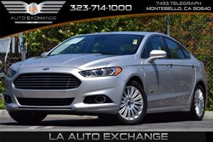 2013 Ford Fusion Energi Titanium Carfax Report 4-Wheel Anti-Lock Disc Brakes Audio  Auxiliary A