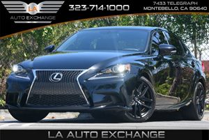 2014 Lexus IS 250  Carfax Report Air Conditioning  AC Audio  AmFm Stereo Audio  Auxiliary