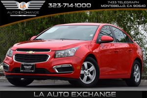 2015 Chevrolet Cruze LT Carfax 1-Owner Alternator 130 Amps Axle 353 Final Drive Ratio Brakes
