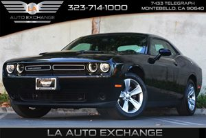 2015 Dodge Challenger SXT Carfax 1-Owner Air Conditioning  AC Clearcoat Paint Displacement