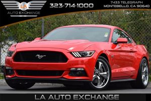 2015 Ford Mustang GT Carfax Report Back-Up Camera Convenience  Adjustable Steering Wheel Conve