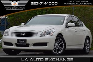 2007 Infiniti G35 Sedan Journey Carfax Report 35L Dohc 24-Valve V6 Aluminum Engine Convenience
