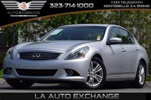 2013 Infiniti G37 Sedan  Carfax 1-Owner 4-Wheel Anti-Lock Braking System Abs Audio  Auxiliary