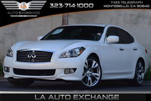 2013 Infiniti M37  Carfax 1-Owner - No Accidents  Damage Reported to CARFAX Anti-Lock Brake Syst