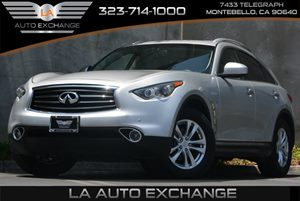 2014 Infiniti QX70  Carfax 1-Owner 2 Seatback Storage Pockets 5 Person Seating Capacity 6 Cylin