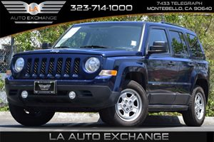 2015 Jeep Patriot Sport Carfax 1-Owner 120 Amp Alternator Airbag Occupancy Sensor Engine 20L