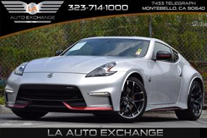 2015 Nissan 370Z NISMO Carfax 1-Owner - No Accidents  Damage Reported to CARFAX 150 Amp Alternat