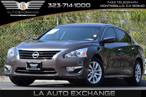 2014 Nissan Altima 25 S Carfax 1-Owner - No Accidents  Damage Reported to CARFAX 110 Amp Altern