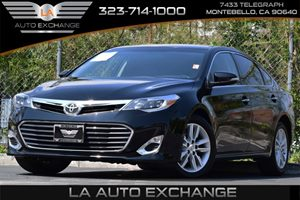 2015 Toyota Avalon XLE Carfax 1-Owner - No Accidents  Damage Reported to CARFAX Airbag Occupancy