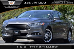 2013 Ford Fusion SE Carfax 1-Owner 4-Wheel Anti-Lock Disc Brakes Child Safety Rear Door Locks C