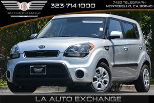 2013 Kia Soul Base Carfax Report - No Accidents  Damage Reported to CARFAX 6040 Split-Folding R
