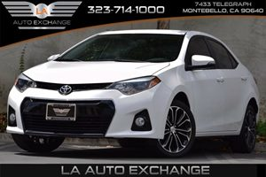 2014 Toyota Corolla S Carfax 1-Owner 476 Axle Ratio 5 Person Seating Capacity 80 Amp Alternato