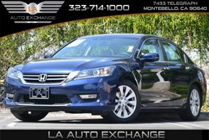 2013 Honda Accord Sdn EX-L Carfax 1-Owner 8 Multi-Info Display -Inc Avg Fuel Economy Digital