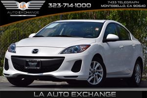 2013 Mazda Mazda3 i Grand Touring Carfax 1-Owner 100-Amp Alternator Air Conditioning  Multi-Zon