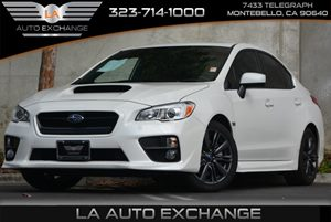 2015 Subaru WRX Premium Carfax 1-Owner 4 Cylinders Air Conditioning  Climate Control Audio  M