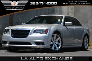 2012 Chrysler 300 SRT8 Carfax Report 180-Mph Speedometer Air Filtering Auto High Beam Headlamp