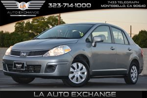 2009 Nissan Versa 18 S Carfax Report  Magnetic Gray Metallic  We are not responsible for typo