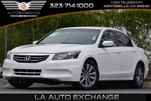 2012 Honda Accord Sdn EX Carfax 1-Owner 4-Wheel Anti-Lock Brake System Abs WElectronic Brake D