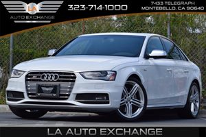 2013 Audi S4 Premium Plus Carfax 1-Owner - No Accidents  Damage Reported to CARFAX 30L Tfsi Sup