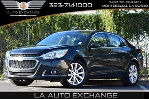 2015 Chevrolet Malibu LTZ Carfax 1-Owner 4 Cylinders Air Conditioning  AC Air Conditioning