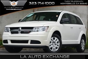 2014 Dodge Journey American Value Pkg Carfax 1-Owner 160 Amp Alternator Convenience  Adjustable