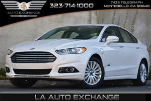 2014 Ford Fusion Energi Titanium Carfax 1-Owner 4 Cylinders 5 Person Seating Capacity Chrome Do