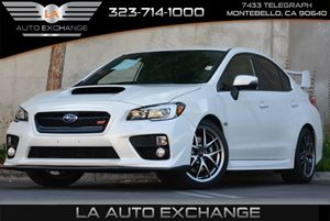 2015 Subaru WRX STI Limited Carfax 1-Owner Air Conditioning  Climate Control Air Filtration Ca