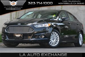 2013 Ford Fusion Energi Titanium Carfax 1-Owner 2-Way Pwr Passenger Seat -Inc Pwr Recline 4 Cyl
