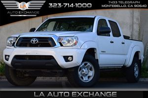 2013 Toyota Tacoma PreRunner Carfax 1-Owner Brake Assist Fuel Capacity  211 Gal Tank Fuel Eco