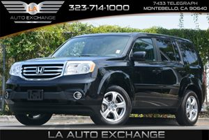 2015 Honda Pilot EX-L Carfax 1-Owner 4 12V Dc Power Outlets Body-Colored Bodyside Moldings Body
