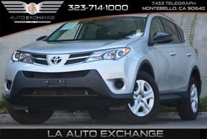 2014 Toyota RAV4 LE Carfax 1-Owner 5 Person Seating Capacity Audio  Auxiliary Audio Input Chro