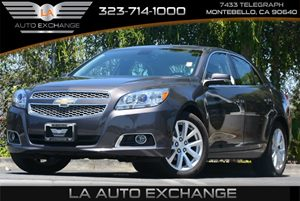 2013 Chevrolet Malibu LTZ Carfax Report Air Conditioning  AC Audio  Cd Player Convenience