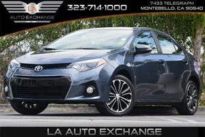 2014 Toyota Corolla S Carfax 1-Owner 5 Person Seating Capacity Air Conditioning  AC Audio  A