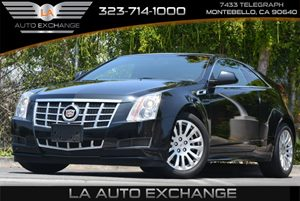 2013 Cadillac CTS Coupe  Carfax 1-Owner 6 Cylinders Air Conditioning  Climate Control Console