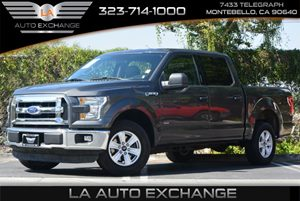 2015 Ford F-150 XLT Carfax 1-Owner  Gray  All advertised prices exclude government fees and ta