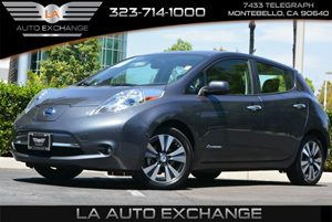 2013 Nissan LEAF SL Carfax 1-Owner - No Accidents  Damage Reported to CARFAX 0 Cylinders 5-Spli