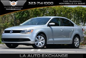 2014 Volkswagen Jetta Sedan SE Carfax 1-Owner 4 Cylinders 5 Person Seating Capacity Audio  Cd