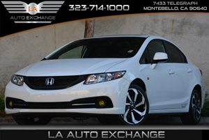 2013 Honda Civic Sdn Si Carfax 1-Owner - No Accidents  Damage Reported to CARFAX Audio  Auxilia