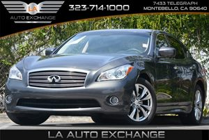 2013 Infiniti M37  Carfax 1-Owner Audio  Auxiliary Audio Input Convenience  Hid Headlights Di