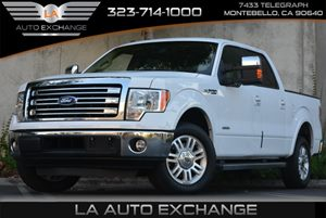 2014 Ford F-150 Lariat Carfax 1-Owner 3 12V Dc Power Outlets And 1 Ac Power Outlet 6 Person Seat