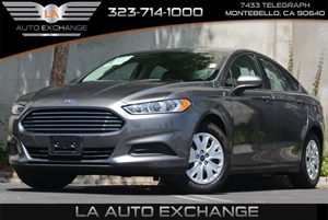 2014 Ford Fusion S Carfax 1-Owner 4 Cylinders 5 Person Seating Capacity Air Filtration Chrome