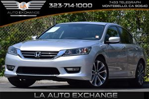 2013 Honda Accord Sdn Sport Carfax 1-Owner - No Accidents  Damage Reported to CARFAX 8 Multi-I