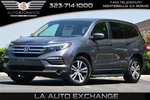 2016 Honda Pilot EX Carfax 1-Owner 8 Person Seating Capacity Air Conditioning  AC Body-Colore