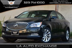 2014 Buick LaCrosse Leather Carfax 1-Owner - No Accidents  Damage Reported to CARFAX Convenience
