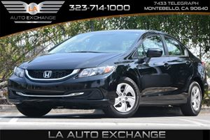 2014 Honda Civic Sedan LX Carfax 1-Owner - No Accidents  Damage Reported to CARFAX Air Condition