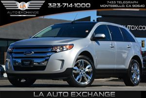 2013 Ford Edge SEL Carfax 1-Owner - No Accidents  Damage Reported to CARFAX  Ingot Silver Meta