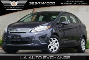 2013 Ford Fiesta SE Carfax 1-Owner Air Conditioning WElectronic Actuation Body-Color Bumper Co