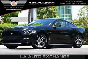 2015 Ford Mustang GT Carfax 1-Owner  Black  All advertised prices exclude government fees and