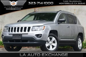 2015 Jeep Compass Sport Carfax 1-Owner - No Accidents  Damage Reported to CARFAX  Billet Silve
