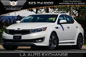2013 Kia Optima Hybrid LX Carfax 1-Owner 4-Wheel Anti-Lock Brakes Abs Active Eco System Conve